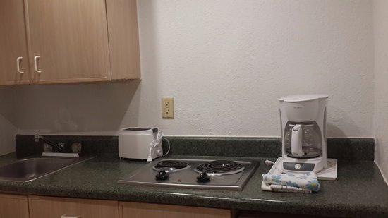 ซันนีไอเอลส์บีช, ฟลอริด้า: Cocina de la habitacion