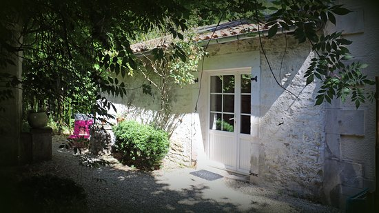 La Creche, Francia: Gîte Studio - couchage 4 personnes où nous avons séjourné .