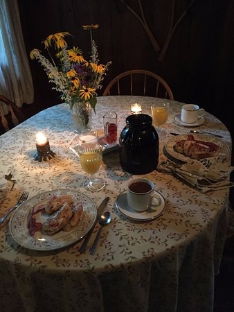 Lyons, NY: Breakfast by the owners!