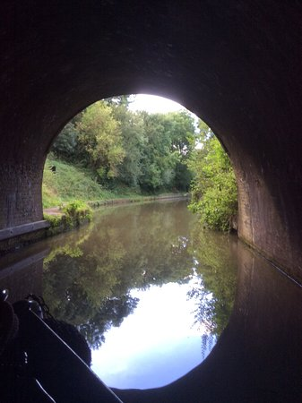 Blisworth, UK: The end of the tunnel