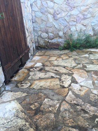 Santa Cristina d'Aro, Espagne : Site of leak