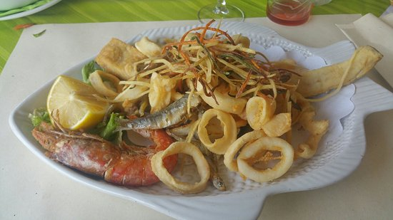 Duna Verde, อิตาลี: Fritto misto...delizioso