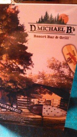 Albertville, Миннесота: Menu Cover.
