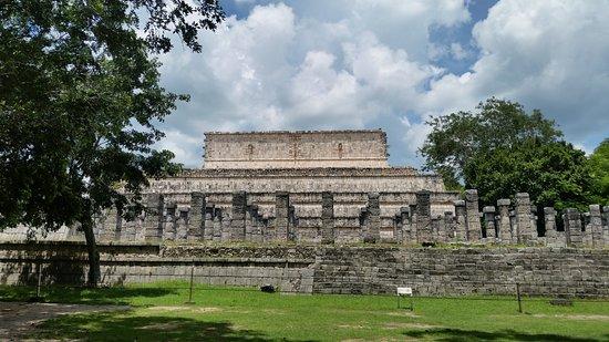 Templo de los Guerreros: Templo dos gerreiros