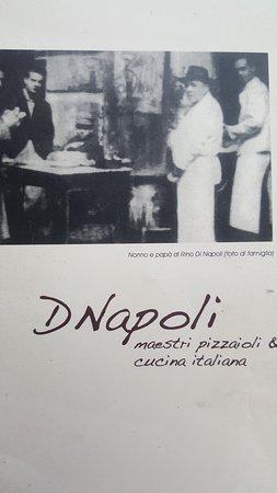 D Napoli Maestri Pizzaioli: Foto storica