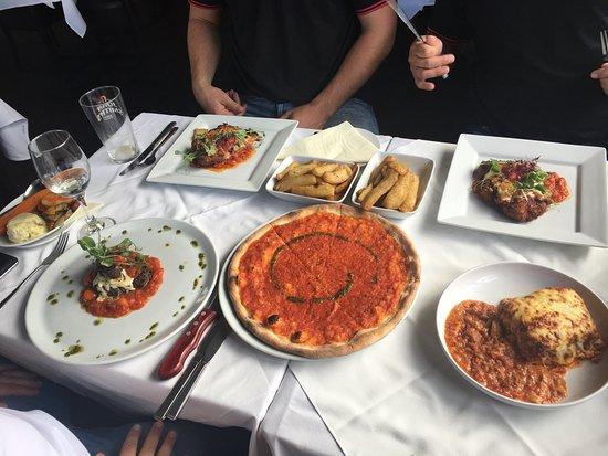 Mama 39 s taster desserts picture of mamas italian for Mammas italian kitchen