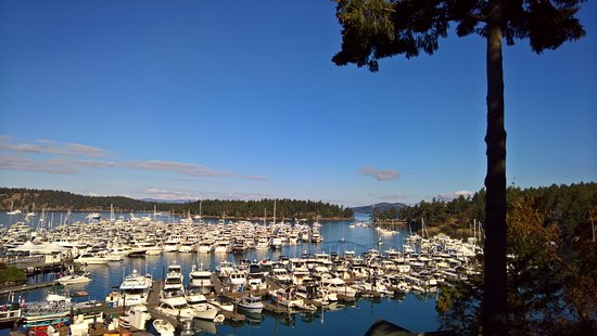 Roche Harbor Resort: From McMillian Suite room 262 Balcony