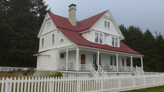 Florence, OR: The assistant light keepers' duplex; now a bed and breakfast