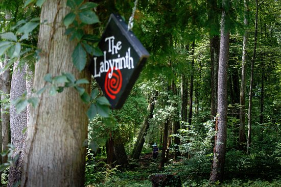 Shawnee on Delaware, PA: Don't miss the labyrinth on the grounds