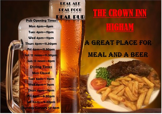 Higham, UK: just come on down