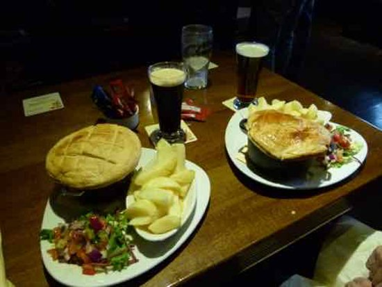 Drogheda, Ireland: Great Pub food
