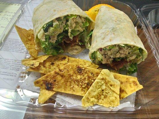 Cafesano: Chicken Ceasar Wrap
