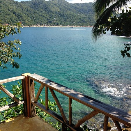 El Jardin Yelapa: View from Eagle's Nest balcony