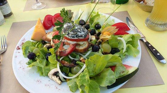 Belle salade d'été au saveurs du sud ?