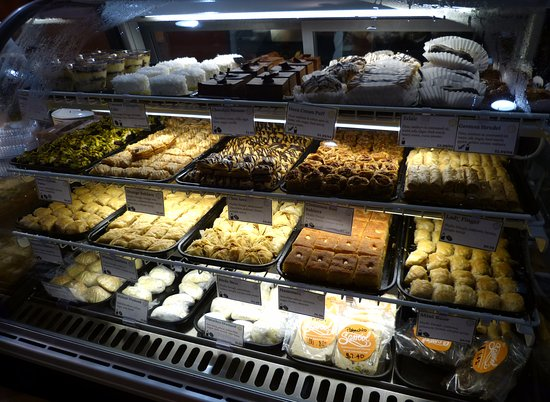 Sassool: Incredible desserts and pastries