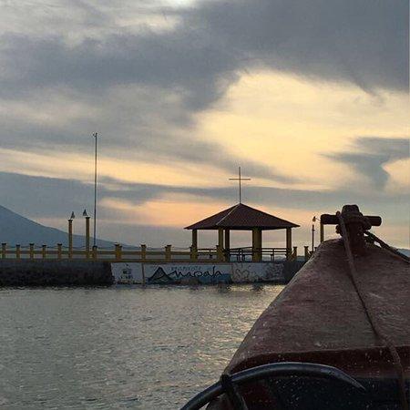Amapala, Honduras: Vistas de la Isla del tigre desde Tour en Lancha.