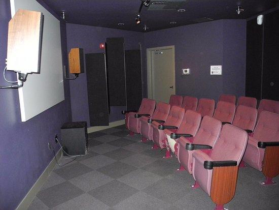 Schweitzer Mountain Resort Lodging: Movie room