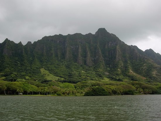 Kaneohe, هاواي: From the Ancient fish pond.