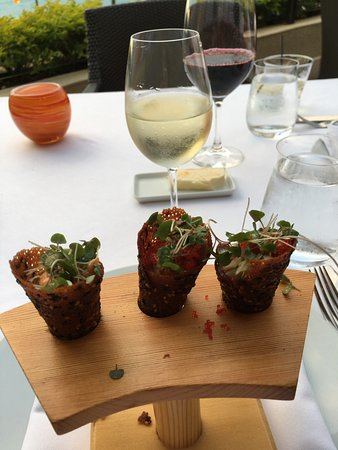Spago: Appetizer mentioned
