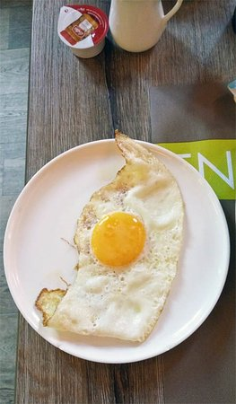 Houthalen, Belgien: baked egg