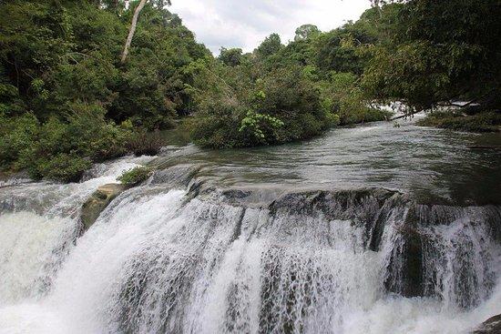 Punta Gorda, Belize: Waterfall at Rio Blanco National Park