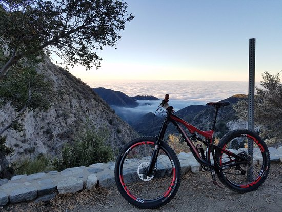 Altadena, CA: Above the clouds