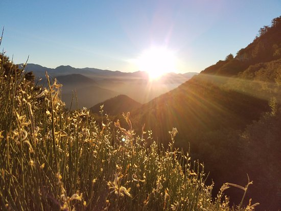 Altadena, CA: The sunrise at the top