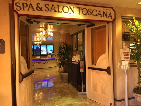 Spa Toscana at Peppermill: Inviting space and amenities