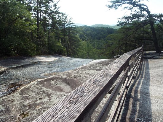 Roaring Gap, Carolina del Norte: Upper falls