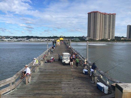 Apache pier picture of apache pier myrtle beach for Pier fishing myrtle beach