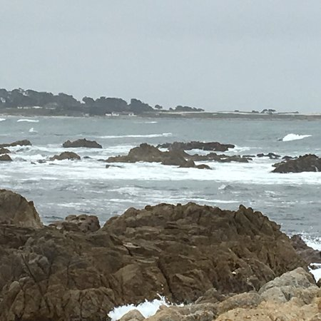 Asilomar State Beach: Looking out towards the surfers...once again amazing 😊