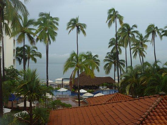 Plaza Pelicanos Grand Beach Resort: 部屋から見える太平洋です。