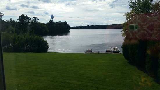 Lac du Flambeau, WI: View from our room