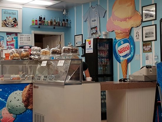 Blenheim, Καναδάς: Ice Cream Counter
