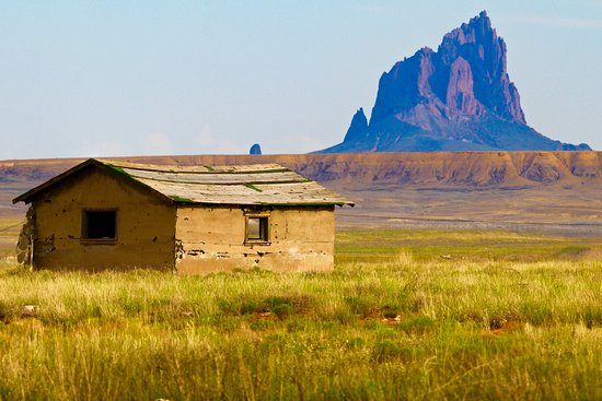 Shiprock, NM: This photo was taken from the main highway leaving Four Corners