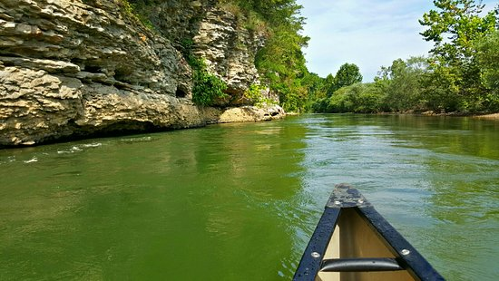 Saint Joe, AR: Buffalo river outfitters. Carver to Gilbert