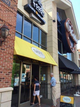 TASTE at City Center: Entrance to Taste