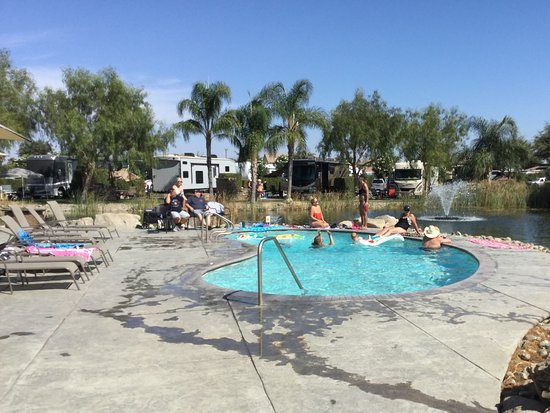 Chowchilla, Californie : Pool