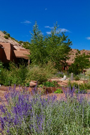 Ojo Caliente Mineral Springs Spa: A view of the resort near the front.