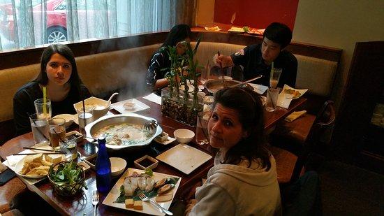Nice Family Dinner Picture Of The Q Restaurant Boston