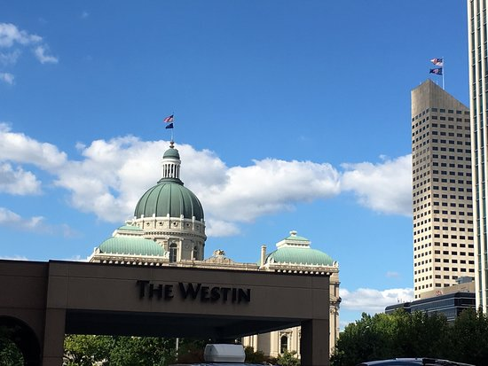 The Westin Indianapolis: View from entrance