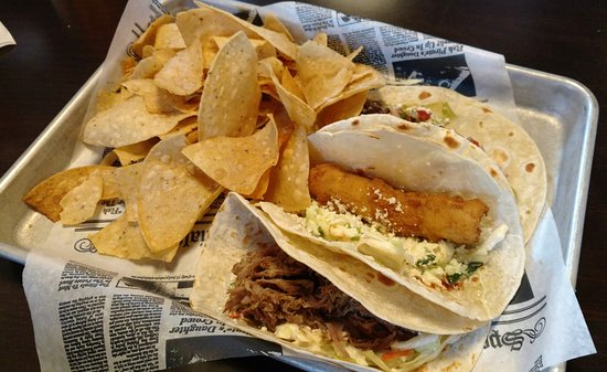 Lakeville, MN: Fish, Pork and Steak Tacos
