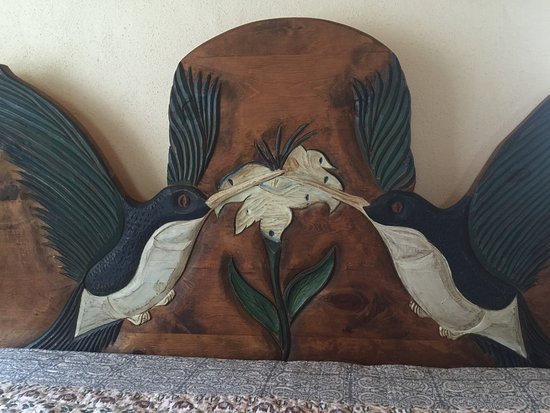 Gila, NM: Beautiful head board.
