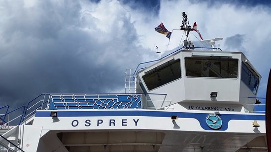 Kootenay Lake Ferry: view of ferry