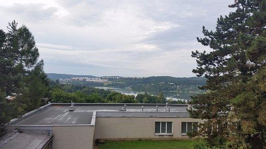 Hotel Fontana: Pohled na přehradu