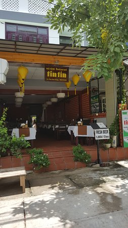 Front of TinTin Restaurant