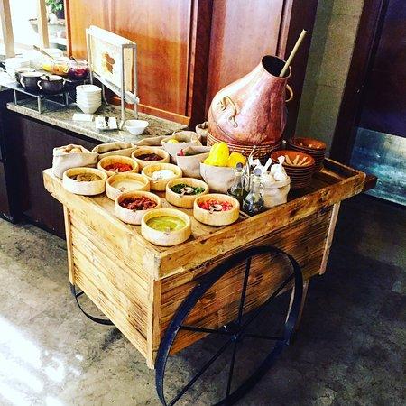 "Four Seasons Hotel Amman: ""Ful medames"" The famous traditional food of middle east عربة الفول المدمس التقليدية"