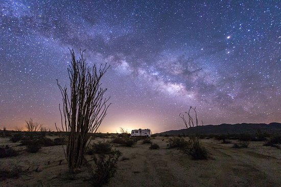 Borrego Springs, CA: Camping under the Milky Way