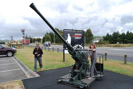 Waiouru, Selandia Baru: national army museum isla norte