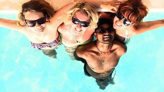 Charny, France: piscine
